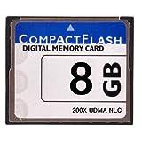 【東芝製チップ】採用オリジナルブランドCompactFlash CFカード コンパクトフラッシュ 8GB 200X 200倍速 UDMA対応 D2Xs/D2Hs/D3/D3S/D700/D300S/EOS 5D MarkII/7D/ 60D/EOS 5D MarkIII/D600/D800E/D7000/D4