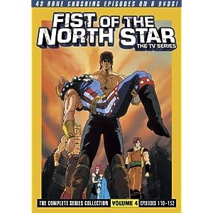 Fist Of The North Star: The TV Series Box 4 (北斗の拳 TVシリーズ DVD-BOX4 北米版)