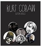 Kurt Cobain nirvana nevermind New Official Badge Pack (4x 25mm & 2x 32mm)