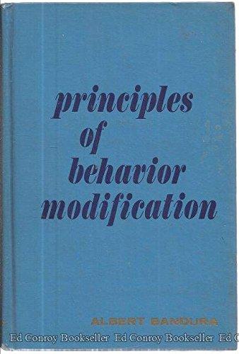 Principles of Behavior Modification, Bandura, Albert