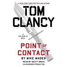 Tom Clancy Point of Contact: Jack Ryan Jr., Book 4 Audiobook by Mike Maden Narrated by Scott Brick