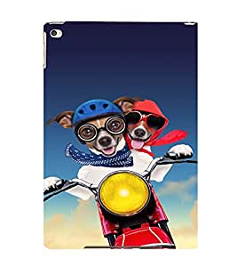 EPICCASE Dog Love in Air Mobile Back Case Cover For Apple Ipad Air 2 (Designer Case)