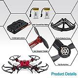Quadrocopter-Potensic-Drohne-58GHz-mit-2MP-HD-Karmera-FPV-Monitor-Video-Live-bertragung-Rot