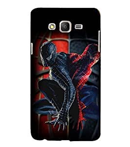 Printvisa Premium Back Cover Spider Man Replica Pic Design For Samsung Galaxy On7::Samsung Galaxy On7 G6000FY
