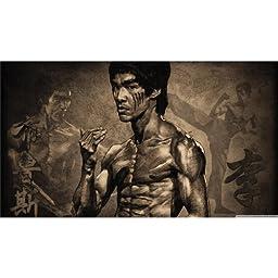 Bruce Lee (25inch x 14inch / 62cm x 35cm) Silk Printing - Silk Print Poster - D46952
