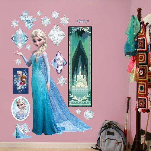 Fathead Wall Decal, Real Big, Disney Frozen Snow Queen Elsa