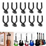 aokur Banjos Mandolins Electric Bass Guitar Stringed Musical Instrument Wall Hanger Mount Holder Hook 10PCs ¡