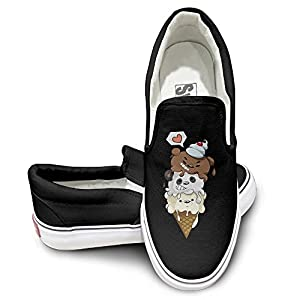 We Bare Bear Ice Cream Canvas Low Top Sneaker 42