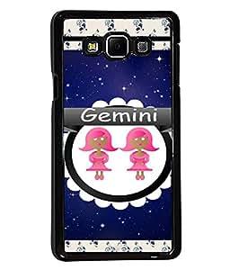 Printvisa 2D Printed Sunsign Gemini Designer back case cover for Samsung Galaxy A7 SM - A700F - D4422