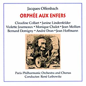 Offenbach: Orphee Aux Enfers (Orpheus in the Underworld)