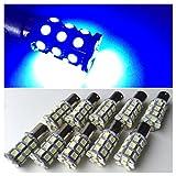 24V用 LED S25 シングル球 27連 10個セット マーカー球 白 赤 青 黄 緑 桃 (ブルー)