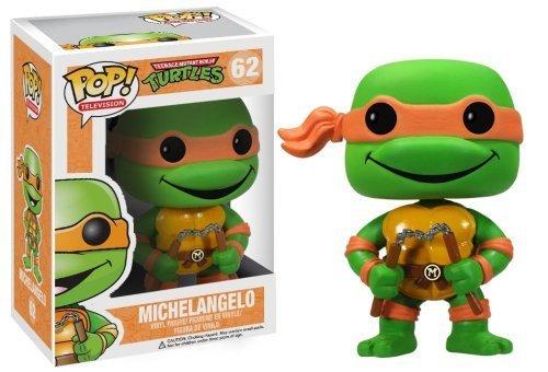 """Michelangelo: ~3.7"""" Funko POP! TMNT Vinyl Figure - 1"""