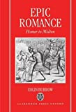 img - for Epic Romance: Homer to Milton 1st edition by Burrow, Colin (1993) Hardcover book / textbook / text book