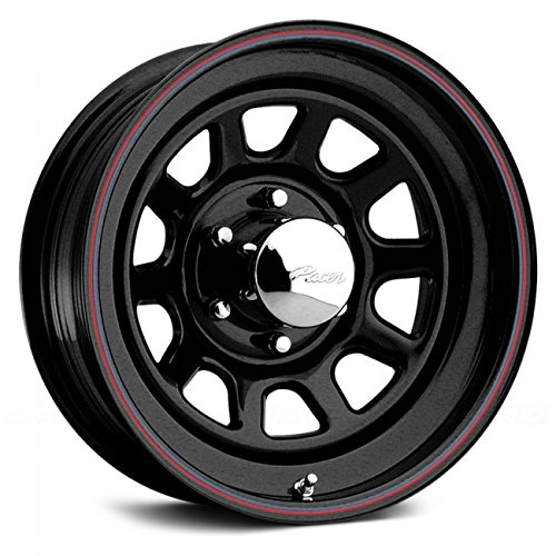 Pacer 342B BLACK DAYTONA Black Wheel (17x8