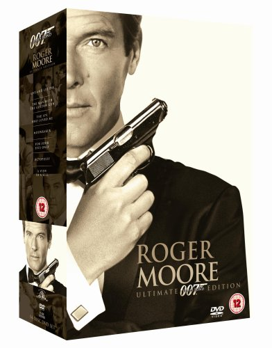James Bond: Ultimate Roger Moore [DVD] [1973]