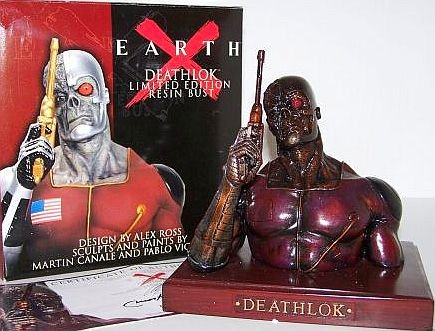 Earth X Deathlok Limited Edition Resin Bust - Buy Earth X Deathlok Limited Edition Resin Bust - Purchase Earth X Deathlok Limited Edition Resin Bust (Dynamic Force, Toys & Games,Categories,Action Figures,Statues Maquettes & Busts)