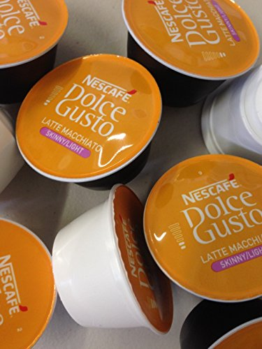 Shop for Dolce Gusto 100 Pods Skinny Latte Mix (50 Coffee and 50 Milk) - Nescafe