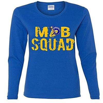 Ladies Long Sleeve: Mob Squad Shirt