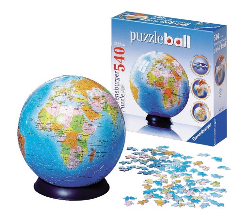 Earth Ball Puzzle
