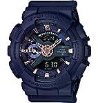 Casio G-Shock Blue Dial Resin Quartz...