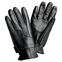 Giovanni Solid Leather Driving Gloves Size: Xtralarge