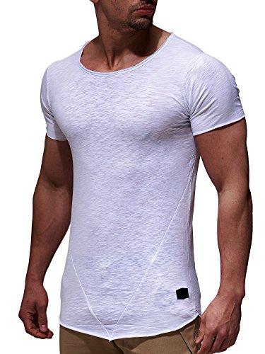 leif-nelson-herren-oversize-t-shirt-rundhals-basic-shirt-ln6281-grse-l-weiss