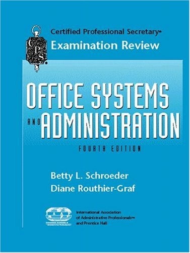 CPS Examination Review for Office Systems and Administration (Certified professional secretary examination review series)