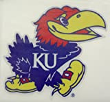 "Kansas Jayhawks REFLECTIVE MASCOT LOGO 4"" Vinyl Decal Car Truck Sticker KU at Amazon.com"