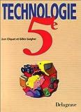 echange, troc Jean Cliquet - Technologie 5e