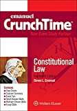 img - for Crunchtime: Constitutional Law (Emanuel Crunchtime) book / textbook / text book