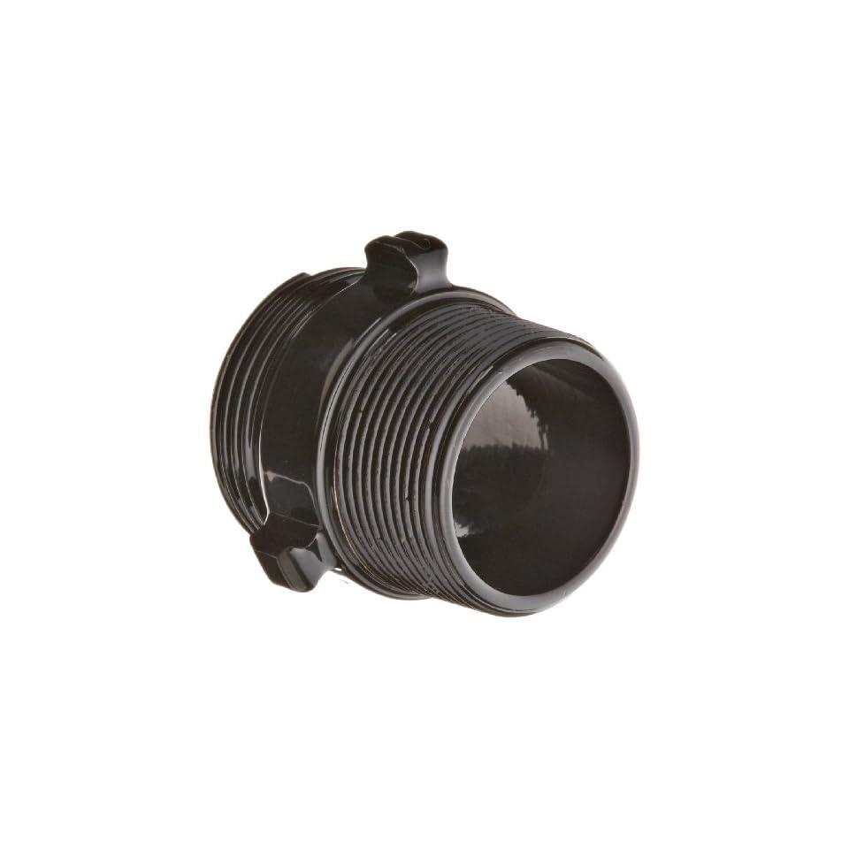 Moon 378 1561524 Aluminum Fire Hose Adapter, Rocker Lug, 1 1/2 NH x 1 1/2 NPT Double RL Male