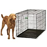 Remington Wire Kennel, Giant, 48-Inch L by 28-Inch W by 31-Inch H, Black