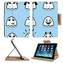 buy Luxlady Premium Apple Ipad Air (Fifth Generation) Generation Flip Case Collection Of Various Ghost Cartoon Icons Image 22970869 Pu Leather Card Holder Carrying