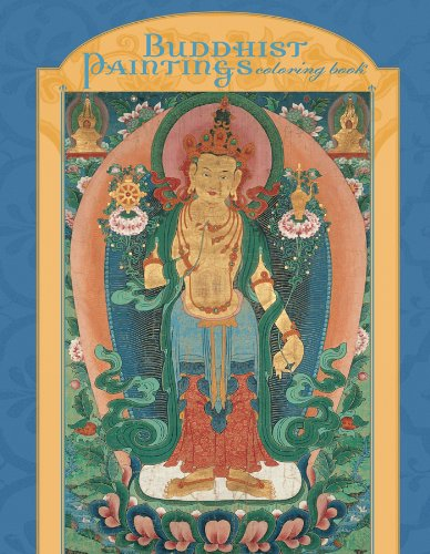Buddhist Paintings Coloring Book
