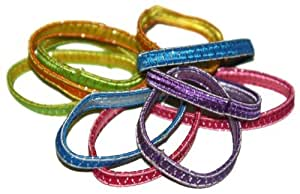 Sparkle Elastic Band Ouchless Ponytail Holders