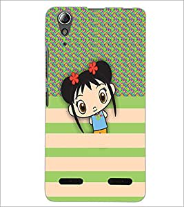 PrintDhaba Cartoon D-3327 Back Case Cover for LENOVO A6000 PLUS (Multi-Coloured)