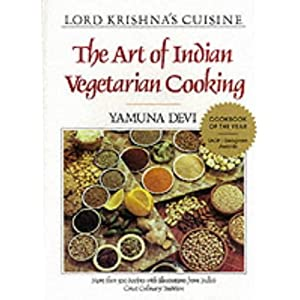 Buy lord krishna 39 s cuisine art of indian vegetarian for Art of indian cuisine