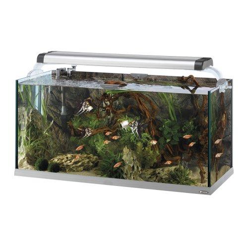 Ferplast 65113021 Aquarium CAYMAN 110 OPEN, Maße: 110 x 45 x 64 cm, 230 Liter