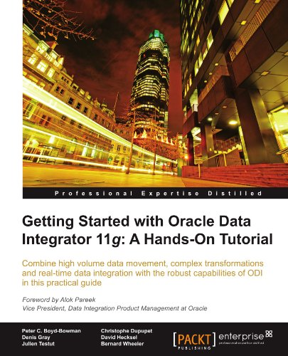 Book cover Getting Started with Oracle Data Integrator 11g: A Hands-on Tutorial