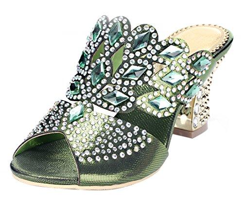 honeystore-womens-handmade-rhombus-rhinestone-chunky-heel-sandals-green-75-bm-us