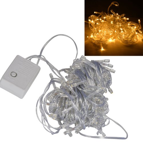 Mudder® 10M 100-Led Fairy Light String Lights For Wedding Christmas Party Holiday (Warm White)
