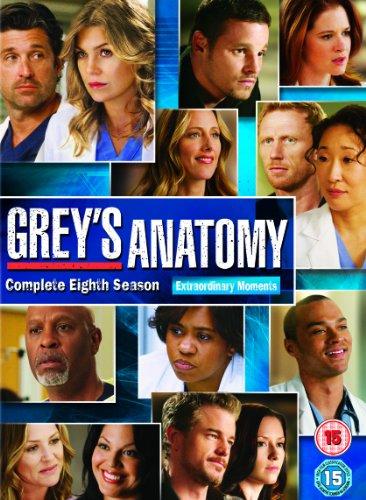 Grey'S Anatomy - Complete 8Th Season (6 Dvd) [Edizione: Regno Unito]
