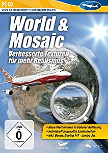Flight Simulator X - World & Mosaic (Add-On)