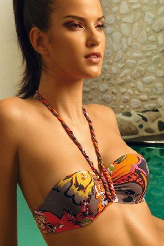 Aubade - Malta Playa - Bikini-Bandeau - Lila/Bunt