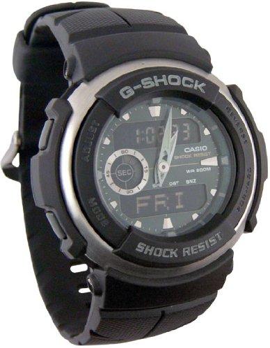 cbcfe4f0439f Best Buy Casio Men s G300-3AV G-Shock Ana-Digi Black Street Rider ...
