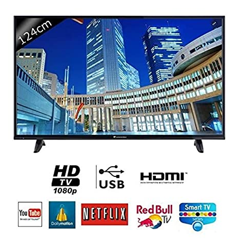 Continental edison 49s0116b3 smart tv led full hd