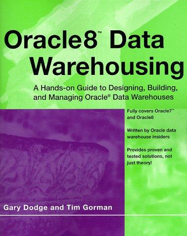 Oracle8 Data Warehousing