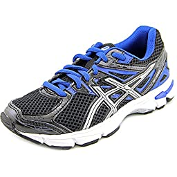 ASICS GT 1000 3 GS Running Shoe (Little Kid/Big Kid),Black/Lightning/Royal,1.5 M US Little Kid