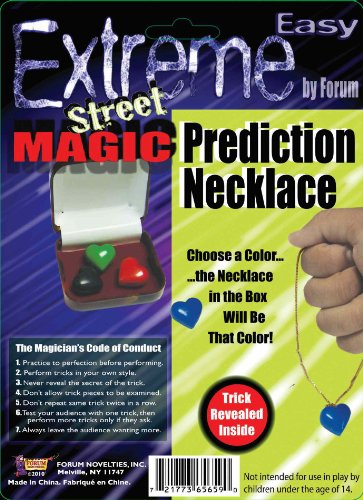 Forum Novelties Extreme Street Magic - Prediction Necklace - 1