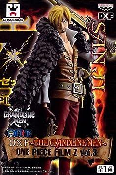 Sanji One Piece DXF ~ The Grandline Men ~ FILM Z vol.3 SANJI film de Georgette combattre prix d'animation de cin?ma uniforme Banpresto [livraison imm?diate] (Japon import / Le paquet et le manuel sont ?crites en japonais)